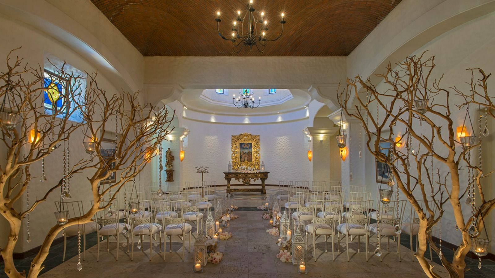 Sheraton Grand Los Cabos - Chapel Wedding Set up