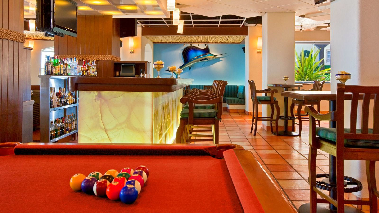Sports Bar - Sheraton Grand Los Cabos